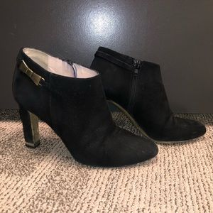 kate spade new york suede bootie